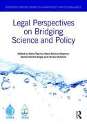 Cover of Legal Perspectives on Bridging Science and Policy