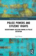 Cover of Police Powers and Citizens' Rights