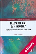 Cover of Iraq's Oil and Gas Industry: The Legal and Contractual Framework (eBook)