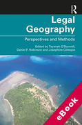 Cover of Legal Geography: Perspectives and Methods (eBook)