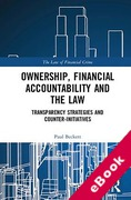 Cover of Ownership, Financial Accountability and the Law: Transparency Strategies and Counter-Initiatives (eBook)