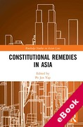 Cover of Constitutional Remedies in Asia (eBook)