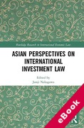 Cover of Asian Perspectives on International Investment Law (eBook)