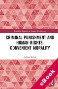 Cover of Criminal Punishment and Human Rights: Convenient Morality (eBook)