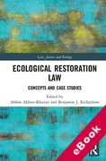 Cover of Ecological Restoration Law: Concepts and Case Studies (eBook)