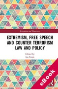 Cover of Extremism, Free Speech and Counter-Terrorism Law and Policy (eBook)