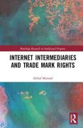 Cover of Internet Intermediaries and Trade Mark Rights