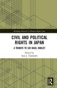 Cover of Civil and Political Rights in Japan: A Tribute to Sir Nigel Rodley