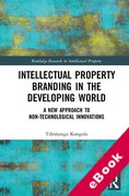 Cover of Intellectual Property Branding in the Developing World: A New Approach to Non-Technological Innovations (eBook)