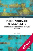 Cover of Police Powers and Citizens' Rights (eBook)