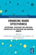 Cover of Enhancing Board Effectiveness: Institutional, Regulatory and Functional Perspectives for Developing and Emerging Markets