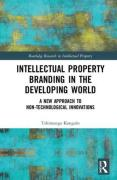 Cover of Intellectual Property Branding in the Developing World: A New Approach to Non-Technological Innovations
