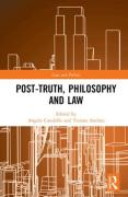 Cover of Post-Truth, Philosophy and Law
