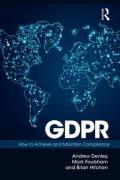 Cover of GDPR: How To Achieve and Maintain Compliance