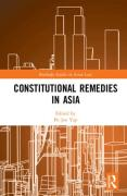 Cover of Constitutional Remedies in Asia