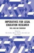 Cover of Imperatives for Legal Education Research: Then, Now and Tomorrow