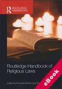 Cover of Routledge Handbook of Religious Laws (eBook)