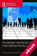 Cover of Routledge Handbook of International Family Law (eBook)