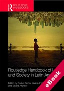 Cover of Routledge Handbook of Law and Society in Latin America (eBook)