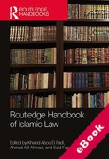 Cover of Routledge Handbook of Islamic Law (eBook)