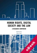 Cover of Human Rights, Digital Society and the Law: A Research Companion (eBook)