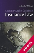 Cover of Commonwealth Caribbean Insurance Law (eBook)