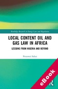 Cover of Local Content Oil and Gas Law in Africa: Lessons from Nigeria and Beyond (eBook)