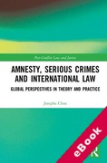 Cover of Amnesty, Serious Crimes and International Law: Global Perspectives in Theory and Practice (eBook)