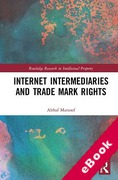 Cover of Internet Intermediaries and Trade Mark Rights (eBook)