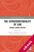 Cover of The Extraterritoriality of Law: History, Theory, Politics (eBook)