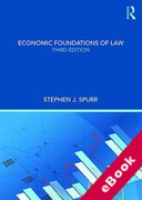 Cover of Economic Foundations of Law (eBook)