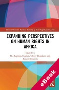 Cover of Expanding Perspectives on Human Rights in Africa (eBook)