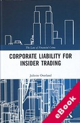 Cover of Corporate Liability for Insider Trading (eBook)