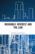 Cover of Insurable Interest and the Law