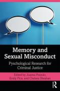Cover of Memory and Sexual Misconduct: Psychological Research for Criminal Justice