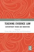 Cover of Teaching Evidence Law: Contemporary Trends and Innovations