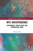 Cover of WTO Jurisprudence: Governments, Private Rights and International Trade