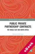 Cover of Public Private Partnership Contracts: The Middle East and North Africa (eBook)