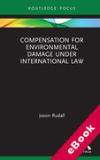 Cover of Compensation for Environmental Damage Under International Law (eBook)