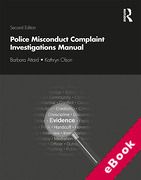 Cover of Police Misconduct Complaint Investigations Manual (eBook)