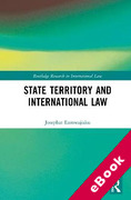 Cover of State Territory and International Law (eBook)