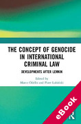 Cover of The Concept of Genocide in International Criminal Law: Developments after Lemkin (eBook)