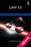 Cover of Law 3.0: Rules, Regulation and Technology (eBook)