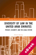 Cover of Diversity of Law in the United Arab Emirates: Privacy, Security, and the Legal System (eBook)