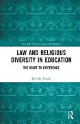 Cover of Law and Religious Diversity in Education: The Right to Difference