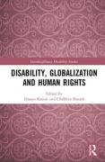 Cover of Disability, Globalization and Human Rights