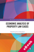 Cover of Economic Analysis of Property Law Cases (eBook)