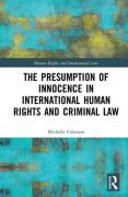 Cover of The Presumption of Innocence in International Human Rights and Criminal Law