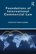 Cover of Foundations of International Commercial Law