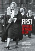 Cover of First 100 Years of Women in Law